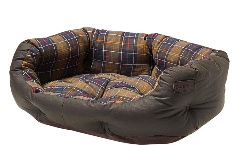 Barbour-Waxed-Cotton-Dog-Bed