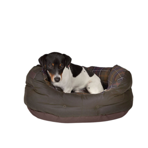 Barbour small dog bed
