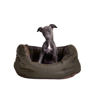 Barbour-small-medium-dog-bed