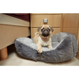 Gor-Pets-Dream-Slumber-Grey-Dog-Bed