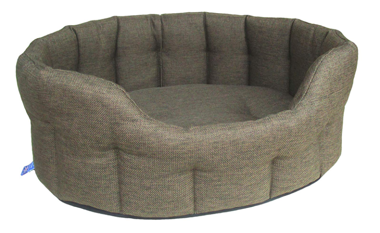 P&L-Premium+Oval+Basket+Weave+Softee+Dog+Bed