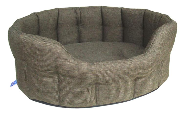 P&L-Premium+Oval+Basket+Weave+Softee+Dog+Bed