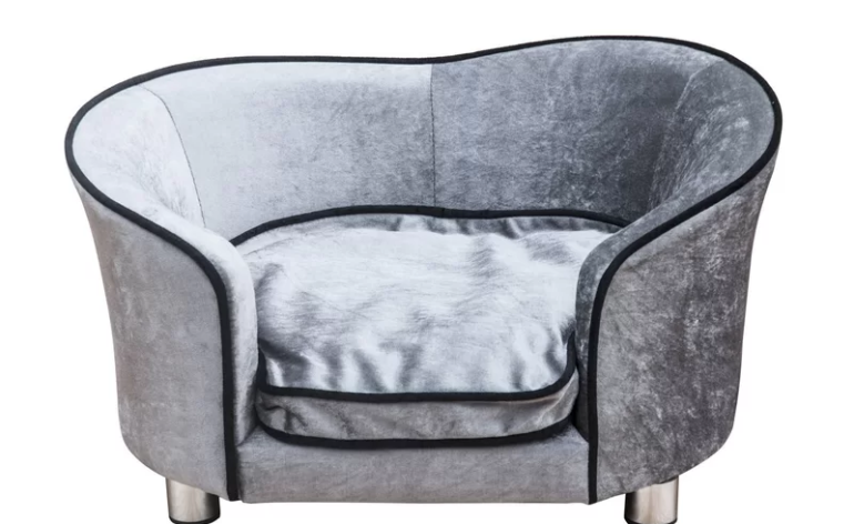Pawhut-LIght-Grey-Sofa-Bed