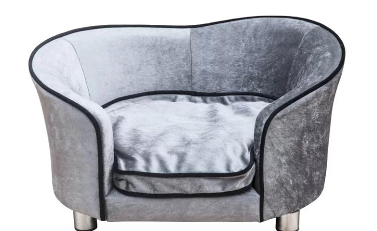 Pawhut-LIght-Grey-Sofa-Bed