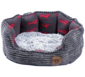 Petface jumbo cord dog bed