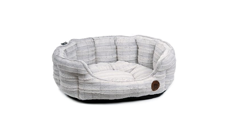 Petface-plush-oval-dog-bed