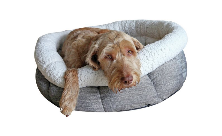 Rosewood-tweed-dog-bed