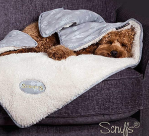 Scruffs christmas dog blanket